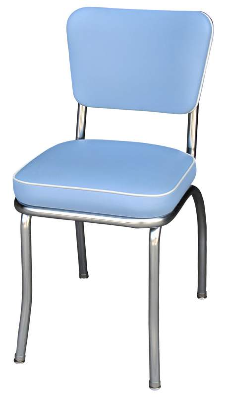 Reto Blue Diner Chair Blue Diner Chairs Retro Kitchen Chairs
