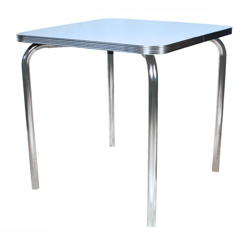 Single Leg Table Square
