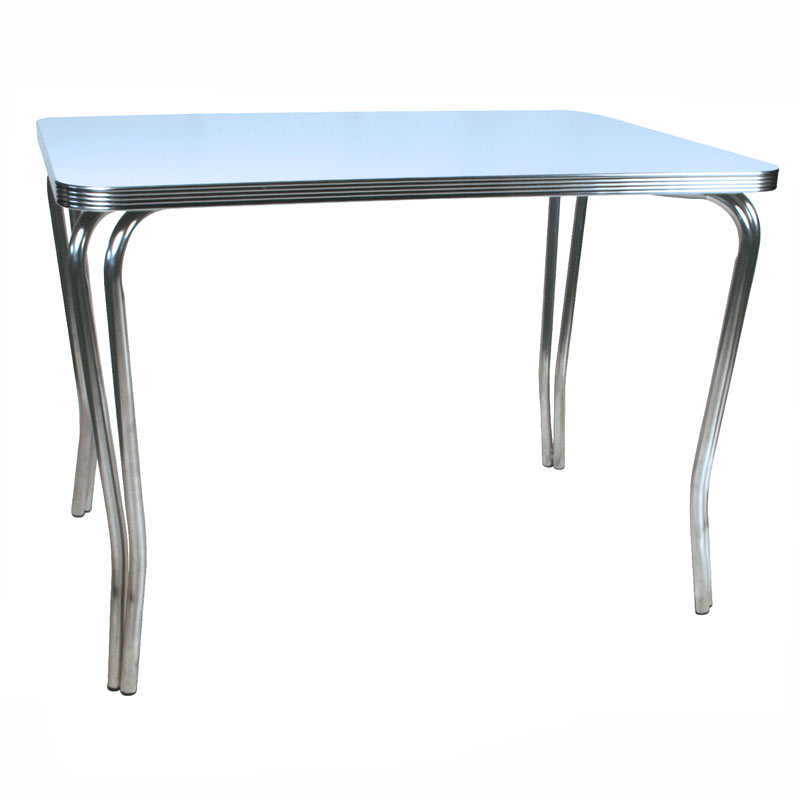 Retro Chrome Tables For Restaurants And Homes