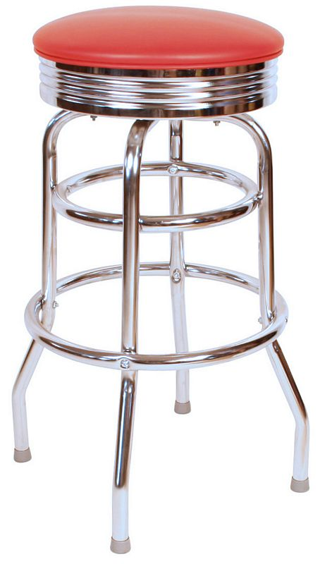 Retro Swivel Bar Stool Retro Swivel Stools Swivel Bar  : dinerbarstoolsred8 from www.barstoolsandchairs.com size 454 x 800 jpeg 70kB