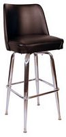 Bucket Bar Stool Black