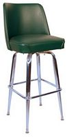 Bucket Bar Stool Green
