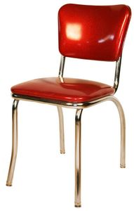 Diner Chair - Red