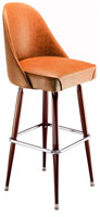 Tapered Bucket Bar Stool