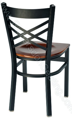 Double Cross Cafe Chair
