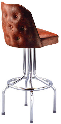 Tufted Diner Bar Stool