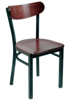 Kidney Back Cafe Chair