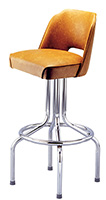 Cutout Diner Bucket Bar Stool
