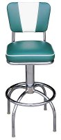 V Back Chair Roswell Stool