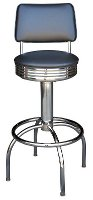 Roswell Diner Stool with Back