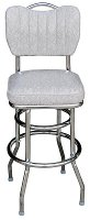 Handleback Chair Stool - Double Ring