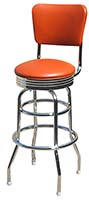 Retro Diner Counter Stool