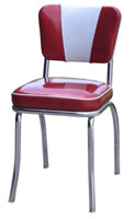 V Back Diner Chair