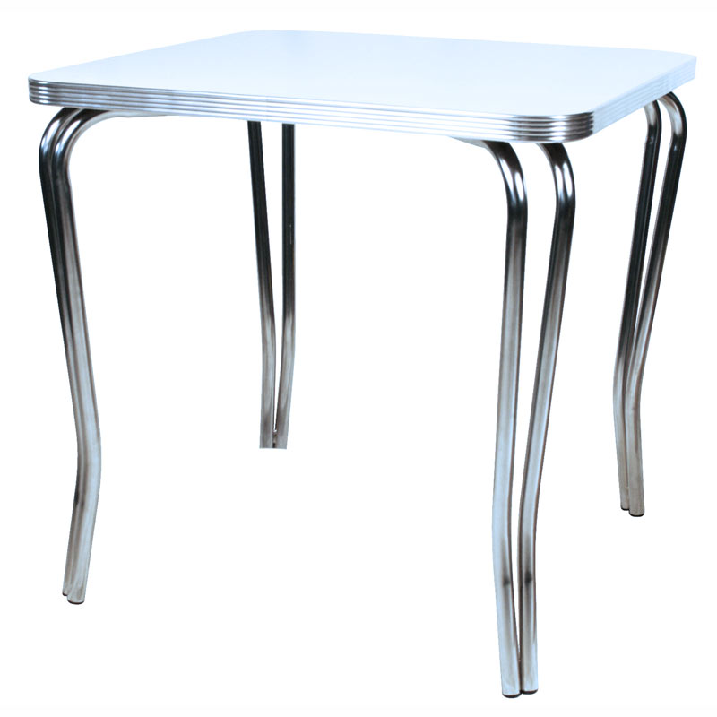 Retro Formica And Chrome Kitchen Table 1950s Kitchen Table
